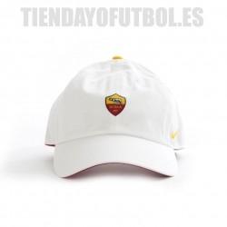 Gorra A S Roma blanca Nike