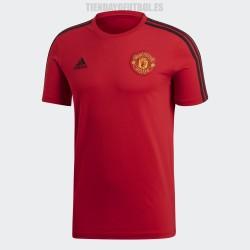 Camiseta oficial algodón Manchester roja United 2018/19 Adidas
