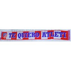 Bufanda oficial Atlético de Madrid Te Quiero