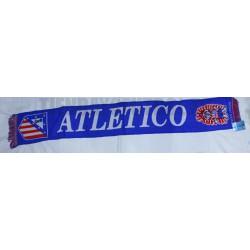 Bufanda oficial Atlético de Madrid Azul