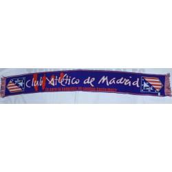 Bufanda oficial Atlético de Madrid Contigo hasta morir