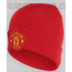 Gorro oficial  Lana  rojo Manchester United Adidas   2018/19