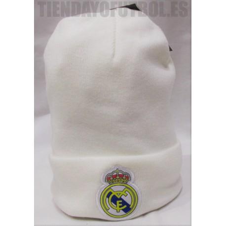 Gorro Lana blanco Real Madrid CF 2018-19 Adidas