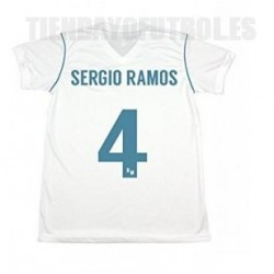 "Camiseta ""Sergio Ramos"" Real Madrid CF adulto 2017/18 RM"