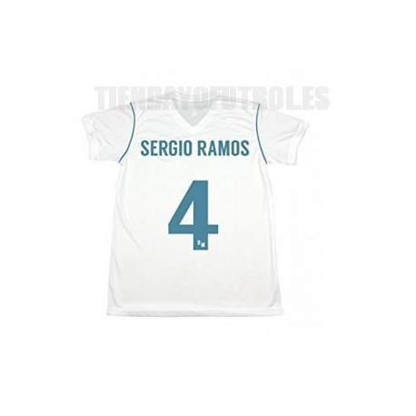 "Camiseta ""Sergio Ramos"" Real Madrid CF 2017/18 RM"