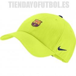 Gorra FC Barcelona   Nike  2018/19  amarilla