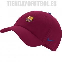 Gorra FC Barcelona   granate  Nike  2018/19