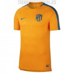 Camiseta oficial Entrenamiento Atlético de Madrid   naranja  2018/19  Nike