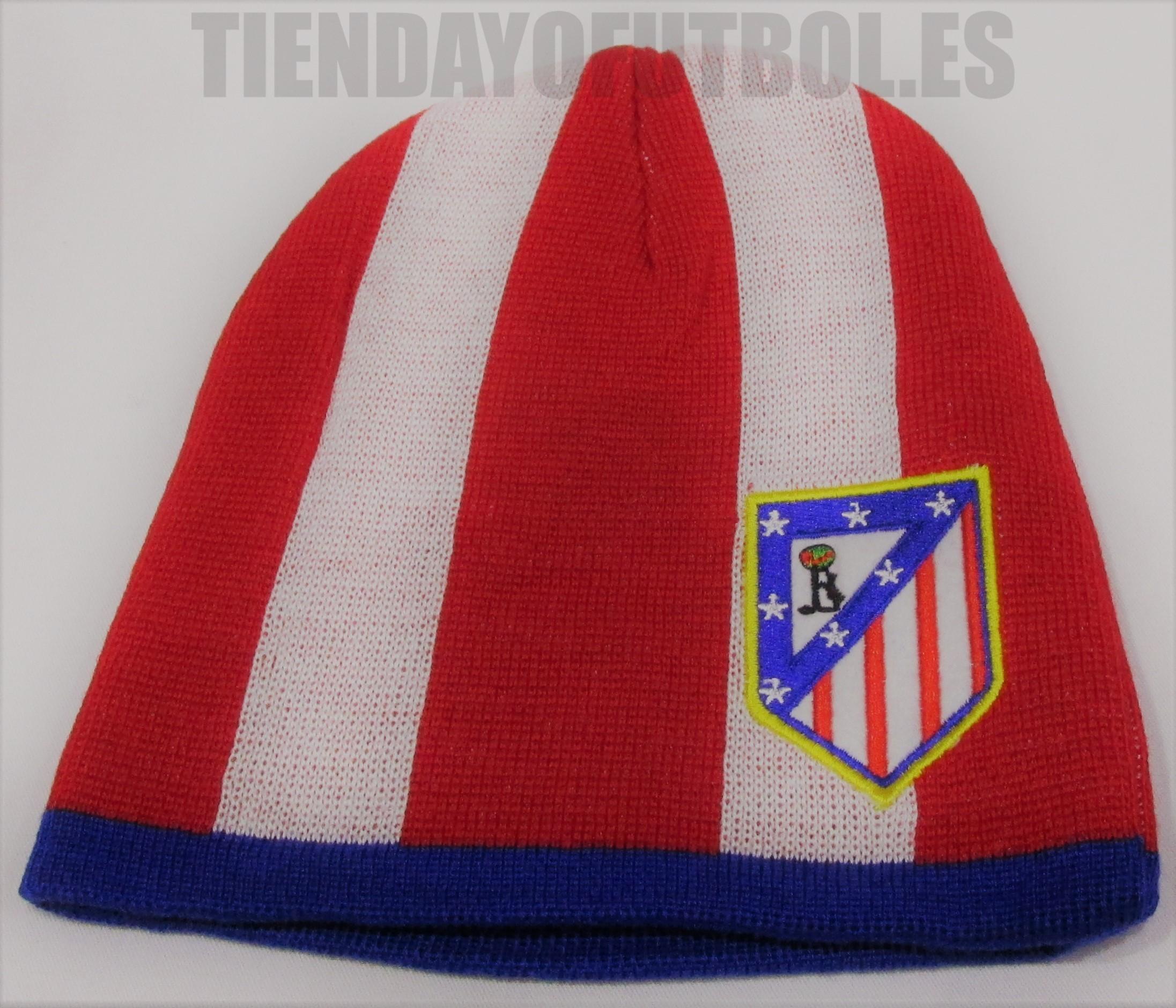 Atlético de Madrid gorro rojo-blanco  b2684e8f000