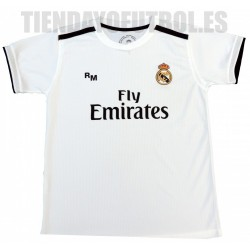 Camiseta 1º Jr. 2018/19 Real Madrid CF RM