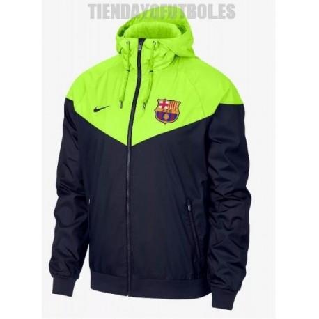 Sudadera -cortavientos oficial FC Barcelona Nike 2018 19 c71ae631b4e