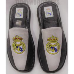 Zapatillas de casa Real Madrid bamara Gris