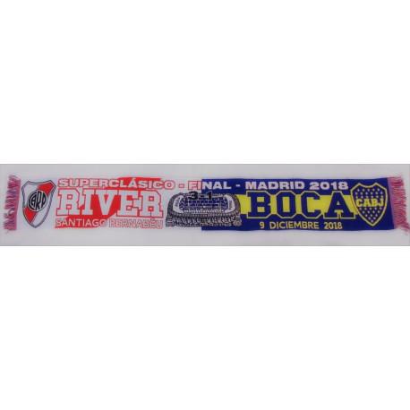 Bufanda Final Copa Libertadores RIVER-BOCA 2018