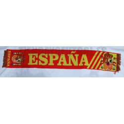 Bufanda España roja