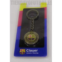 Llavero oficial giratorio FC Barcelona