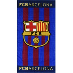 Toalla oficial clasica Playa FC Barcelona