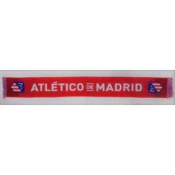 Bufanda oficial telar Atlético de Madrid Roja