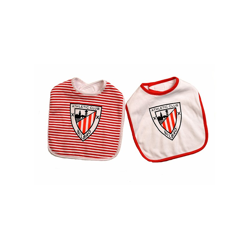 Baberos Pack 2 oficial Athletic Club de. 541bbba3911ba