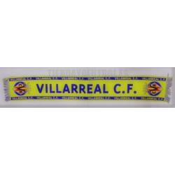 Bufanda oficial Villarreal CF amarilla
