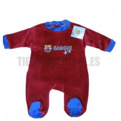 Pelele-pijama oficial FC Barcelona granate
