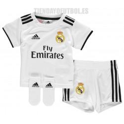 083b17469 Mini Kit 1ª BEBE oficial 2018 19 Real Madrid CF Adidas