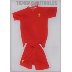 kit junior oficial 1ª Liverpool
