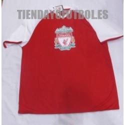 Camiseta oficial Liverpool paseo roja