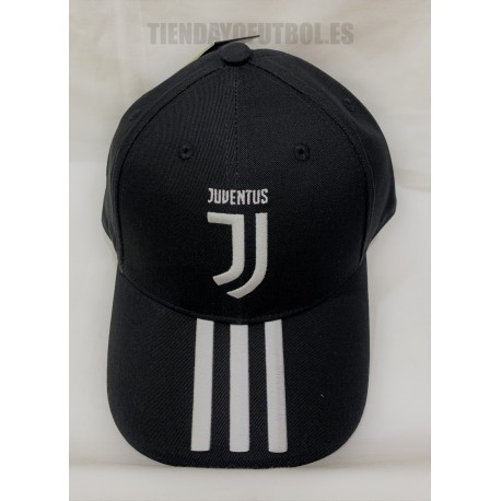 Gorra oficial Juventus Negra 2019-20 Adidas