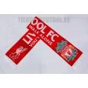 Bufanda oficial lana doble Liverpool roja