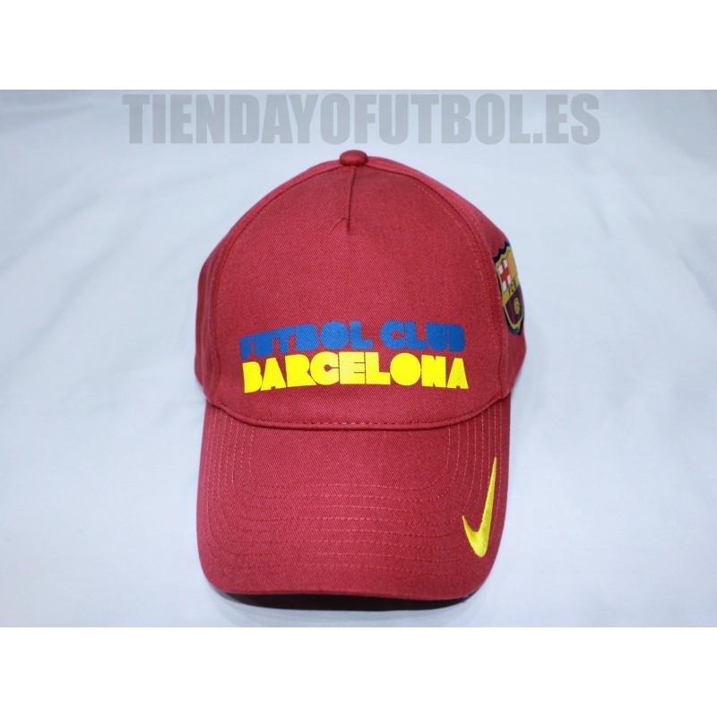 Gorra oficial FC Barcelona Letras Nike. ¡Precio rebajado! Gorra. Loading  zoom 91655f31036