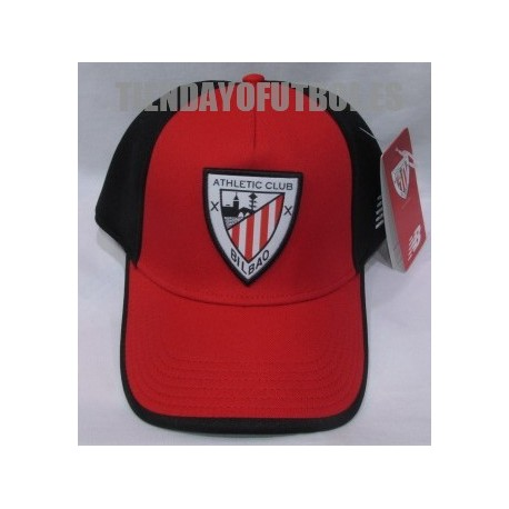 Gorra oficial roja Athlétic Club de Bilbao| gorra oficial athletic | Athletic Gorra
