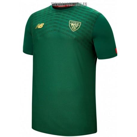Camiseta oficial entrenamiento verde. 2019/20 Athletic club de Bilbao New Balance
