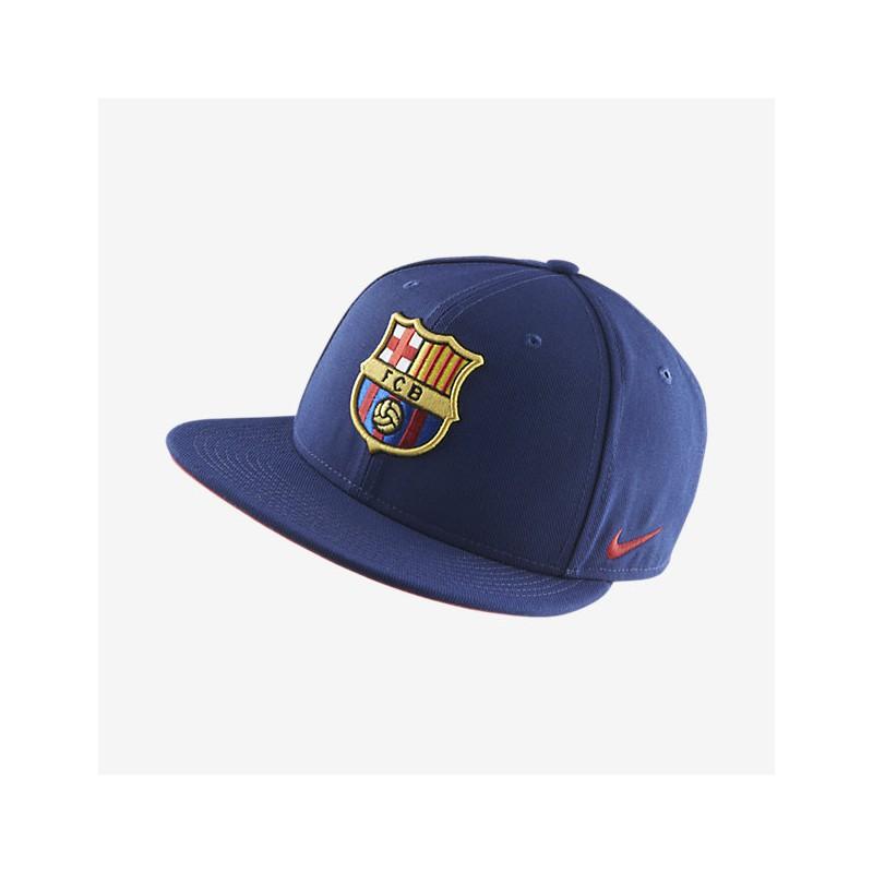 Gorra plana 2016 17 FC Barcelona Nike azul  2dbf89c2dee