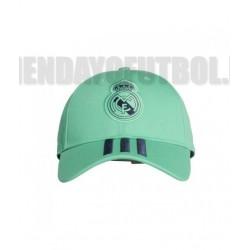 Gorra oficial verde Real Madrid CF. Adidas
