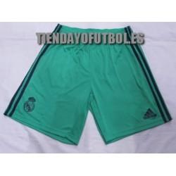 Pantalón oficial verde Real Madrid CF 2019/20 Adidas