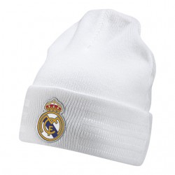 Gorro Lana blanco Real Madrid  Adidas