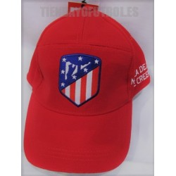 Gorra oficial Atlético de Madrid roja