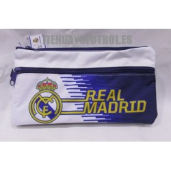 Estuche portatodo oficial Real Madrid CF Triple