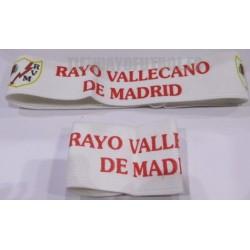 Cinta pelo y muñequera Rayo Vallecano de Madrid