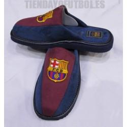 Zapatillas de estar por casa oficial FC Barcelona Bamara