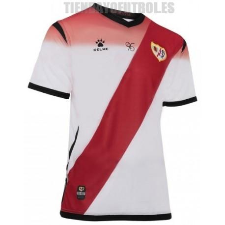 Camiseta oficial 1ª Rayo Vallecano de Madrid 2019/20 Kelme