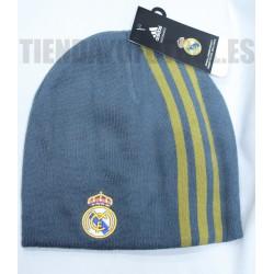 Gorro Lana gris Real Madrid CF Adidas