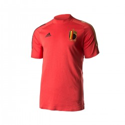 Camiseta oficial de Belgica Algodón Euro 2020 ADIDAS
