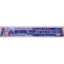 Bufanda Cuartos final Real Madrid-Real Sociedad