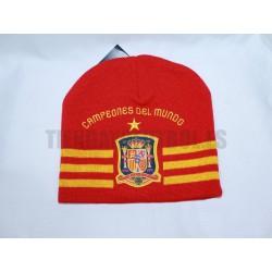 Gorro Lana Selección España Campeón
