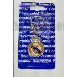 Llavero plateado oficial Real Madrid CF Escudo