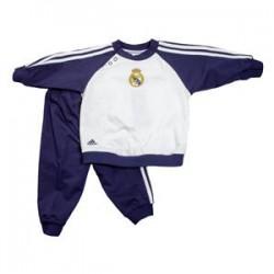Chándal bebé oficial Real Madrid blanco