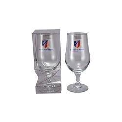 Copa cerveza cristal oficial Atlético de Madrid