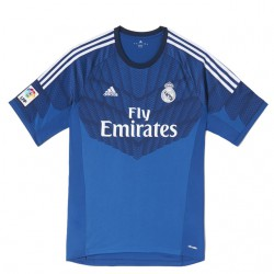 Camiseta Portero Azul 2014 15 Real Madrid CF. bbe5080961037