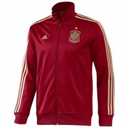 Sudadera granate Selección Española Adidas